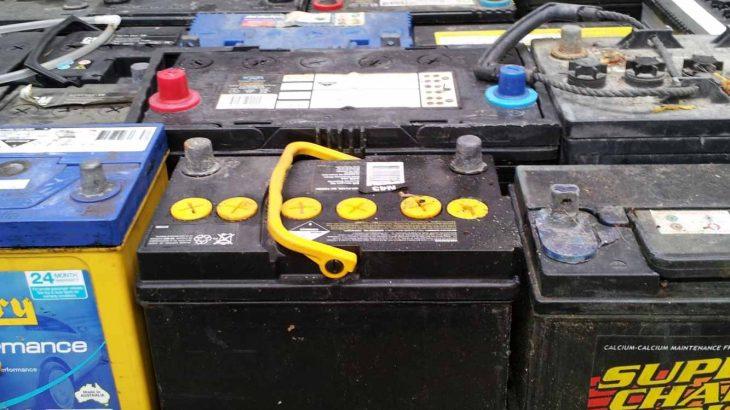 ضایعات باتری