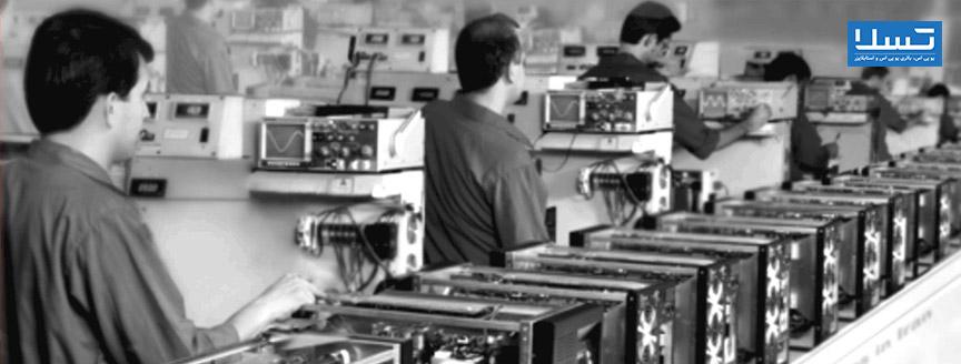 خط تولید یو پی اس شرکت فاراتل