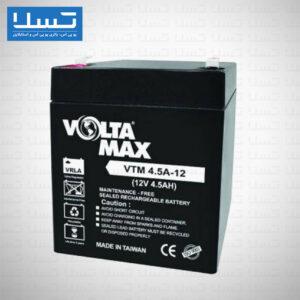 باتری یوپی اس ولتامکس 12 ولت 4.5 آمپر VTM4.5-12