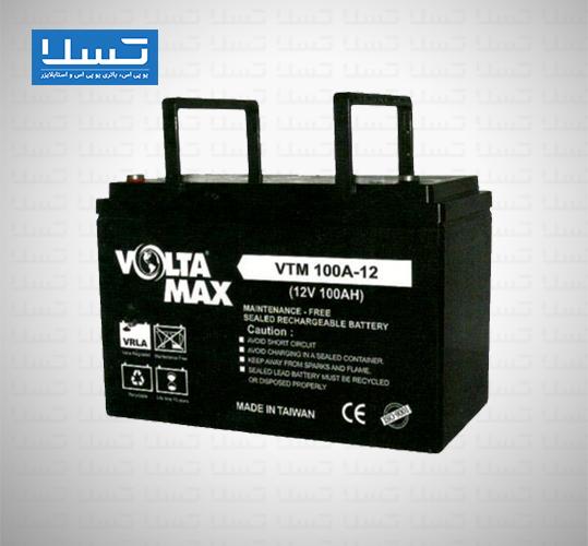 باتری یوپی اس ولتامکس 100 آمپر