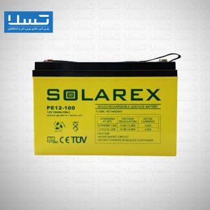 باتری یو پی اس 100 آمپر سولارکس