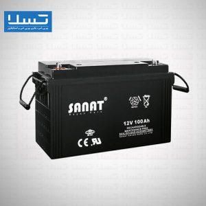 باتری صنعت 100 امپر