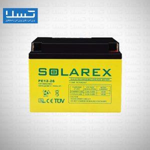 باتری یو پی اس 26 آمپر سولارکس